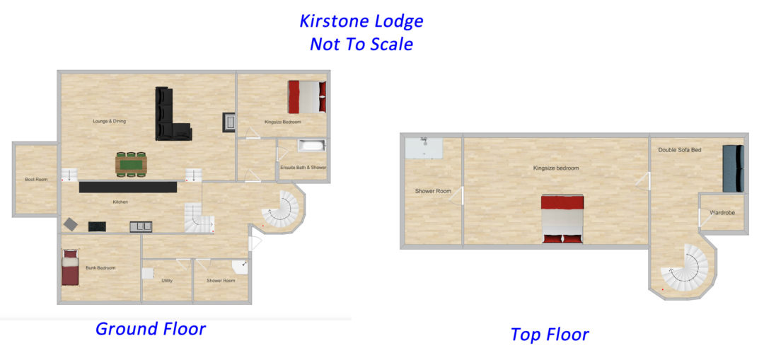 Kirkstone Lodge Floor Plans