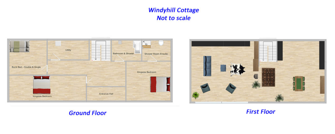 Windyhill Cottage Floor Plan