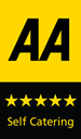 5 Star AA Rating for Self Catering