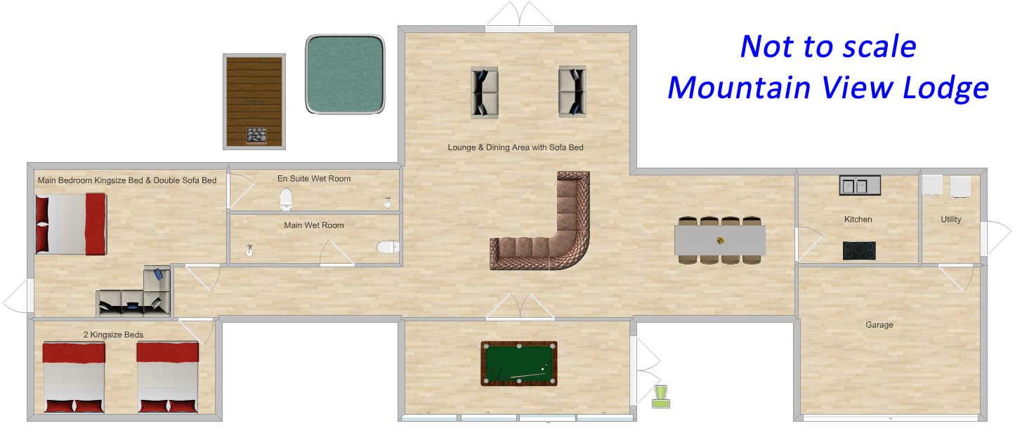Mountain View Lodge Floor Plan