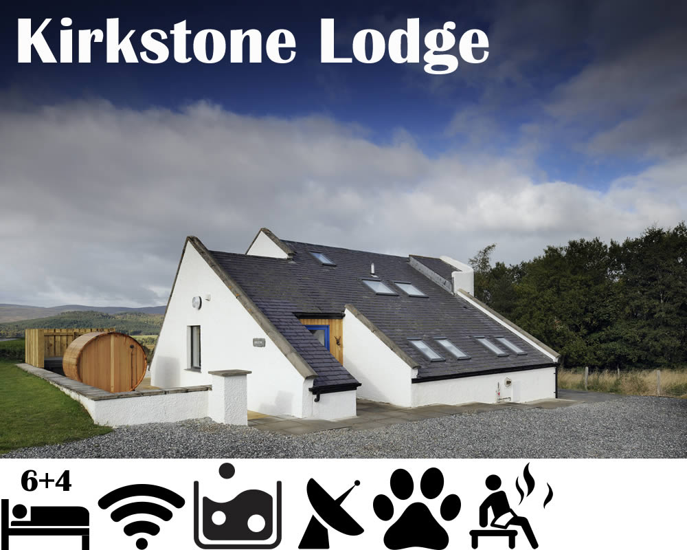 Kirkstone Lodge - Holiday Let sleeps 10 Aviemore