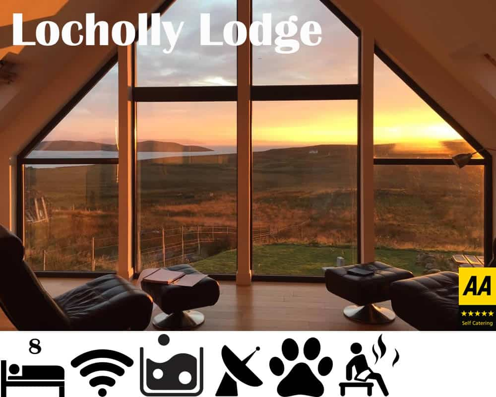 Locholly Lodge - Luxury Self Catering sleeps 8 with Hot Tub