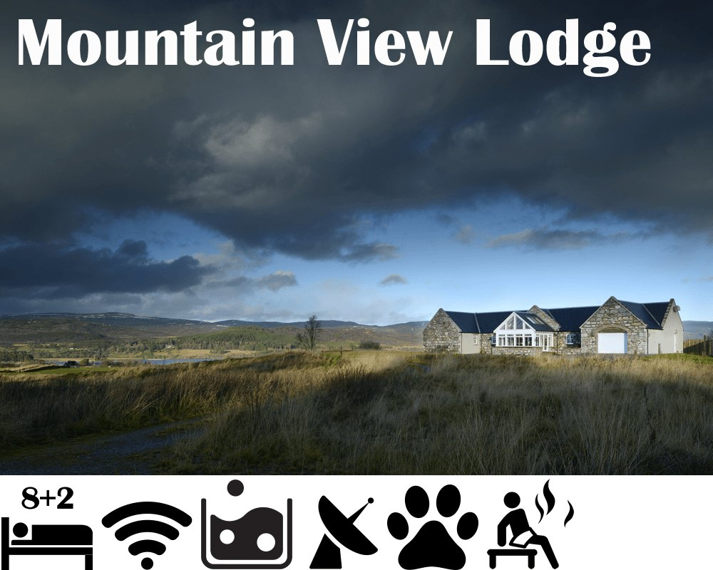Mountain View Lodge - Luxury Self Catering sleeps 1o with Hot Tub