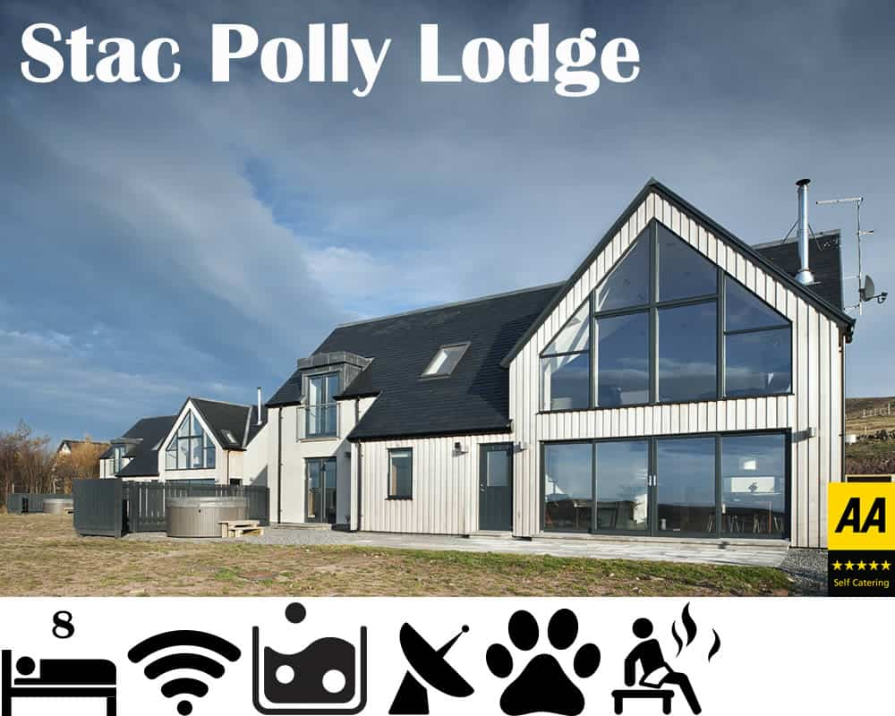 Stac Polly Cottage - Luxury Self Catering sleeps 8 Achiltibuie
