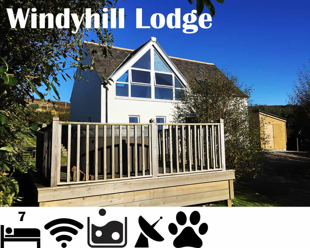 Windyhill Cottage - Holiday Let sleeps 7 Achiltibuie