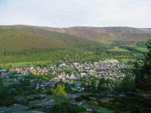 Ballater Craigendarroch Hill Walk